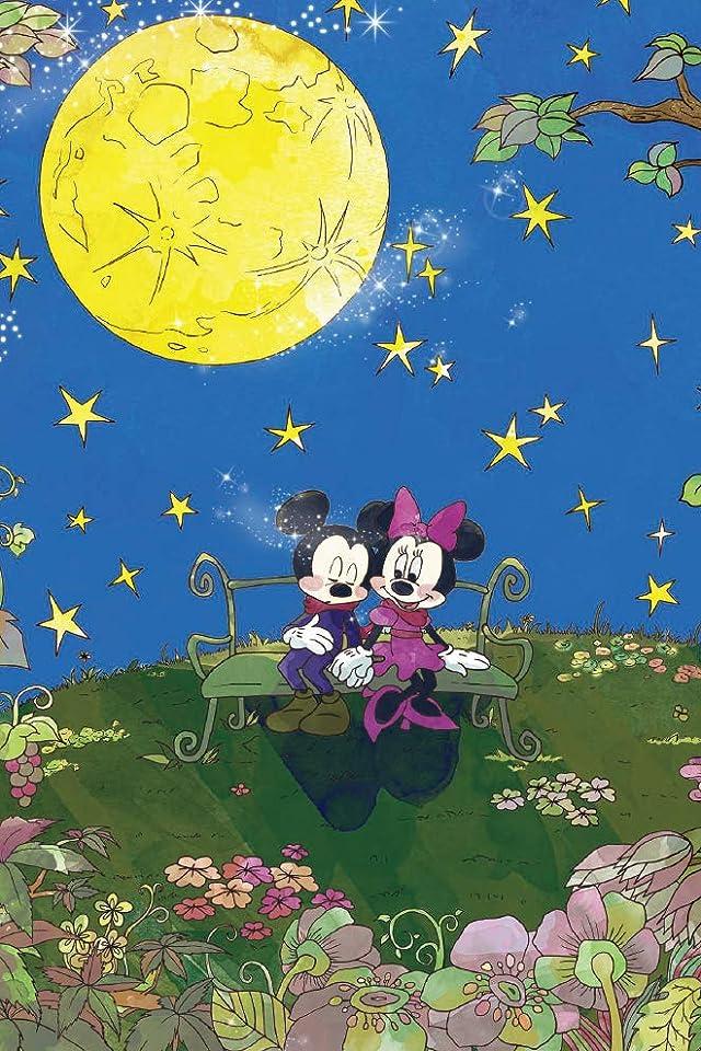 ディズニー ミッキー,ミニー iPhone(640×960)壁紙画像