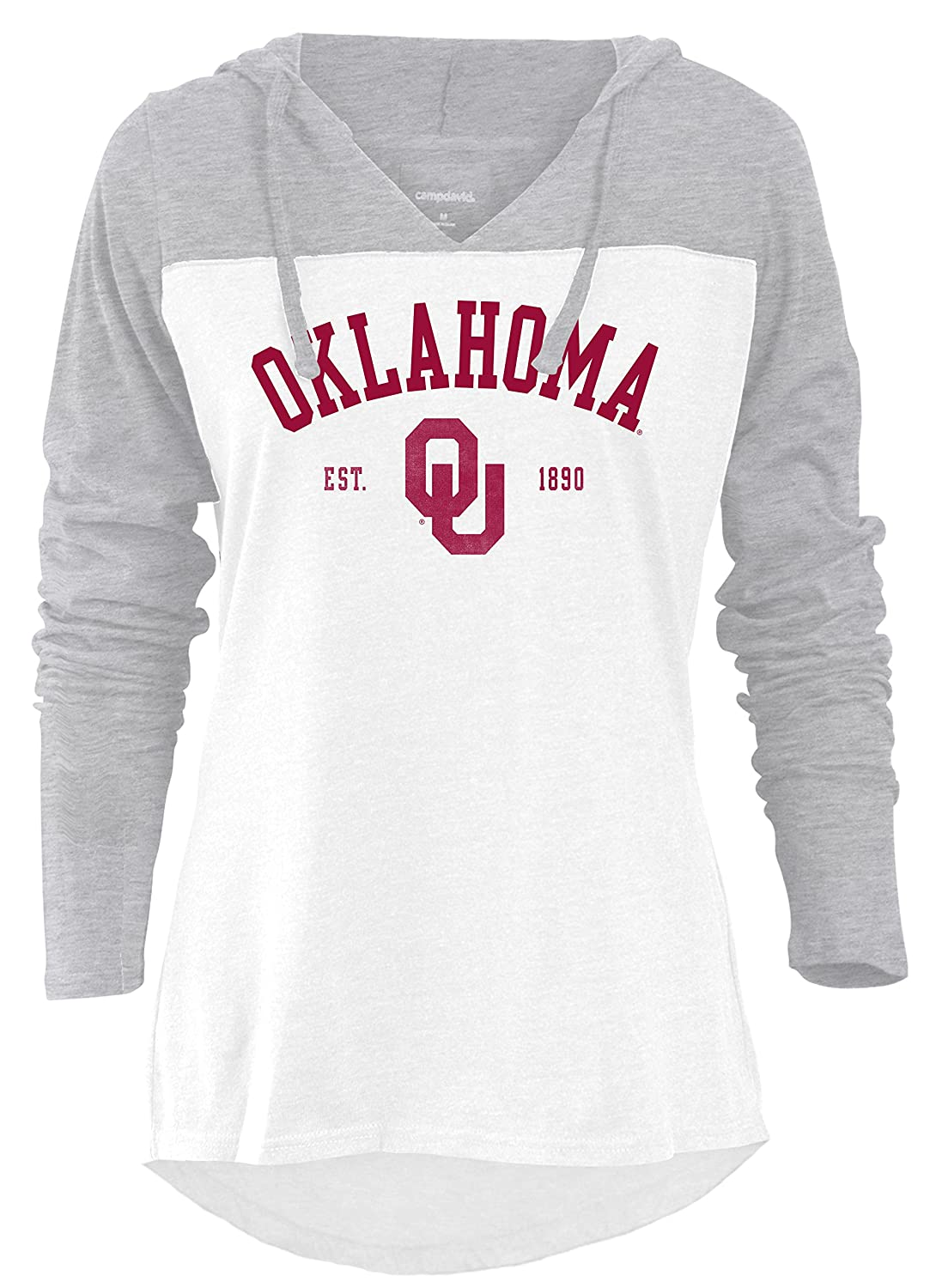 NCAA Knockout Womens Color Block Long Sleeve Hoodie