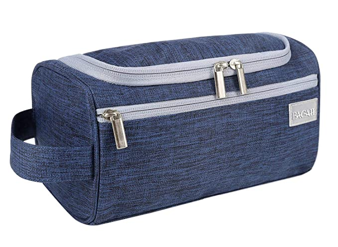 75a7d8c76d BAGAIL Hanging Dopp Kit Sturdy Travel Toiletry Organizer for Bathroom  Shower Navy