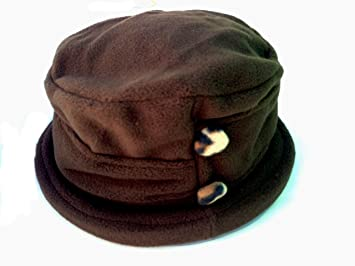 Image Unavailable. Image not available for. Color  Jeanne Simmons Women s  Small Brim Polar Fleece Bucket Hat (Brown - Brown Cheetah Button) 47422ac1e215