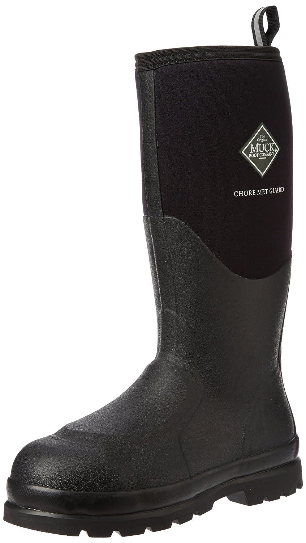 503da12f6c1 Muck Boot Chore Classic Tall Steel Toe Men's Rubber Work Boot W/ Metatarsal  Guard