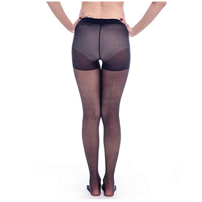 64f7d5362d001 ElsaYX Women's Sheer Five Toes Pantyhose with Cotton Gusset: Amazon.co.uk:  Clothing