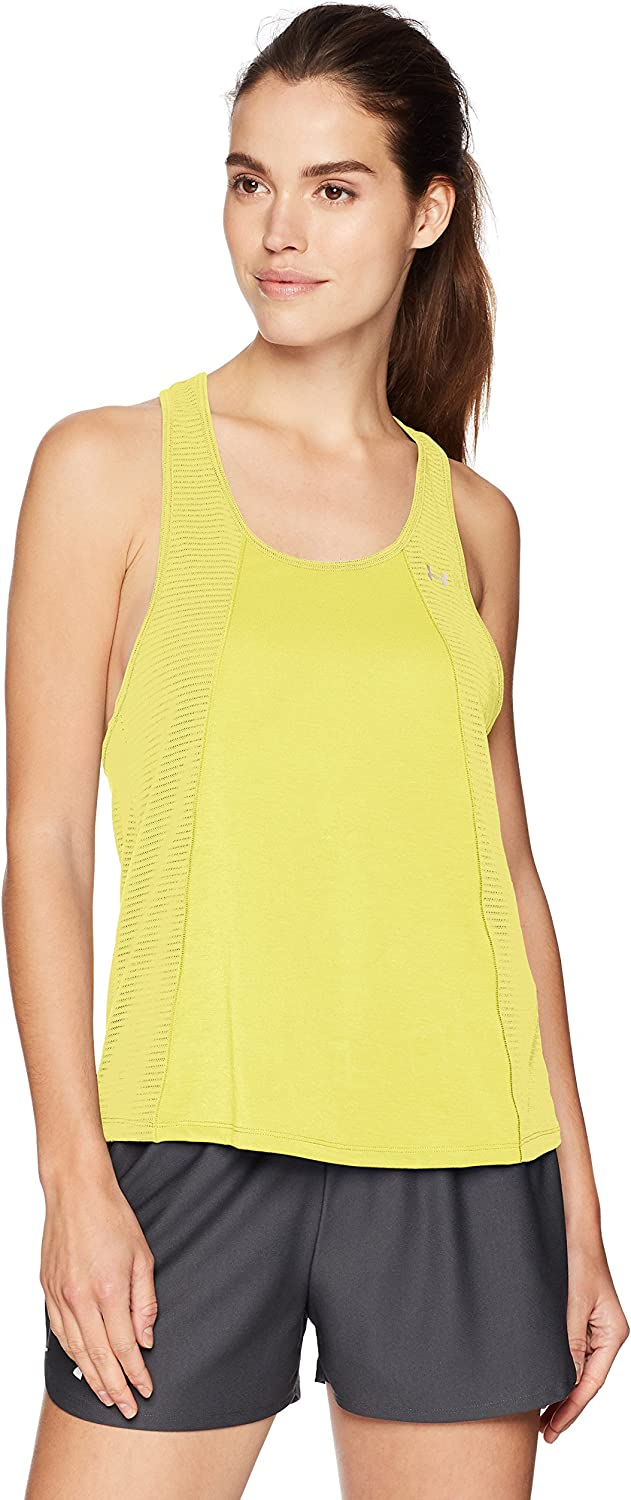 Under Armour Threadborne Fashion Tank - Camiseta sin Mangas Mujer