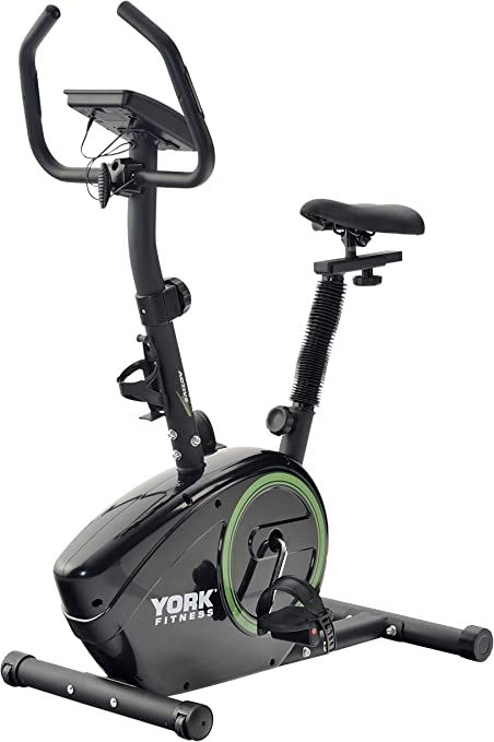 York Fitness Active 110 - Bicicleta estática: Amazon.es: Deportes ...