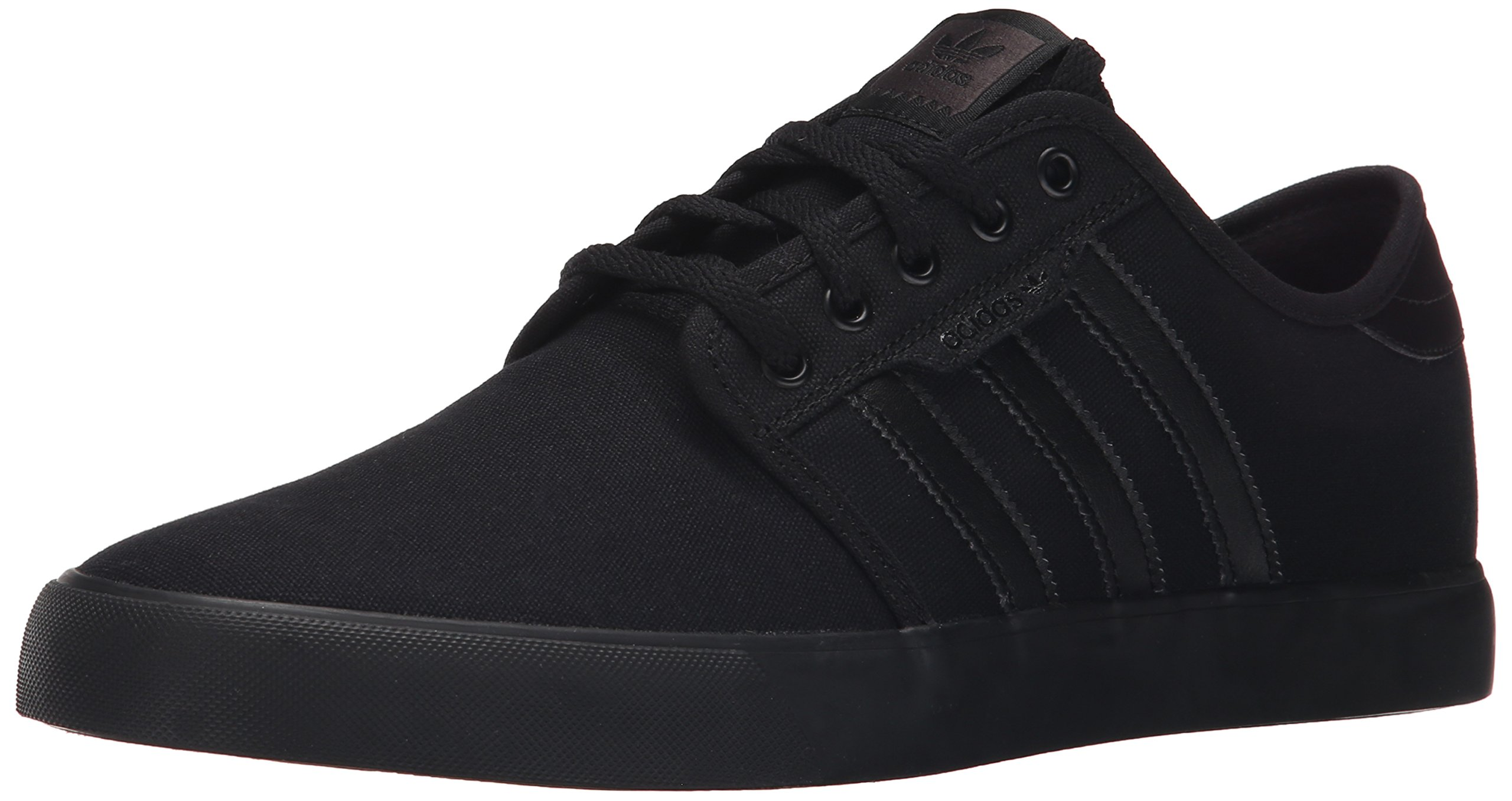 adidas Originals Men's Seeley Running Shoe, Black, 12.5 M US by adidas Originals