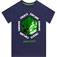 Minecraft Camiseta para Niños Creeper