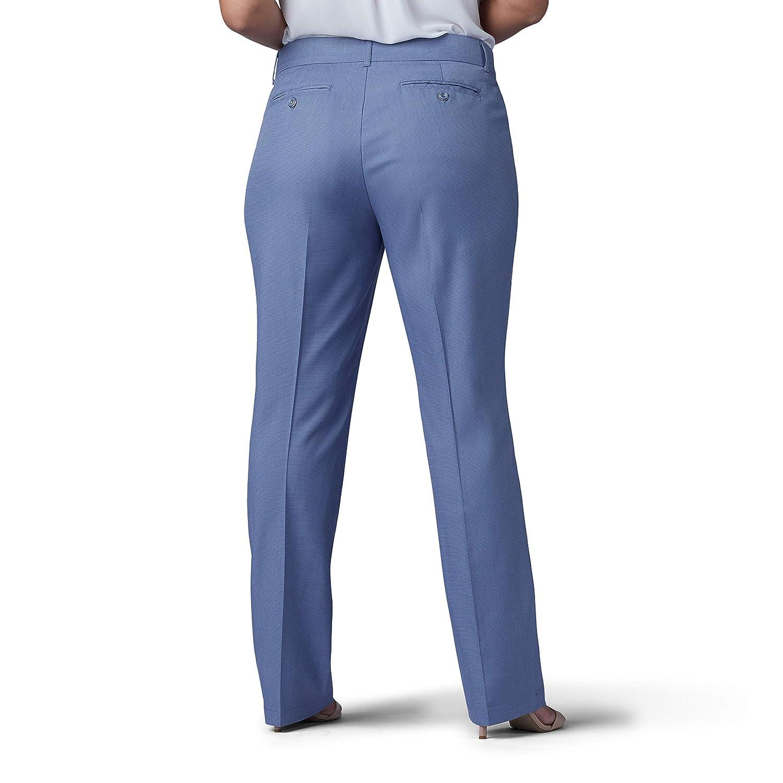 9363470804e149 LEE Women's Plus Size Flex Motion Regular Fit Straight Leg Pant at Amazon  Women's Clothing store: