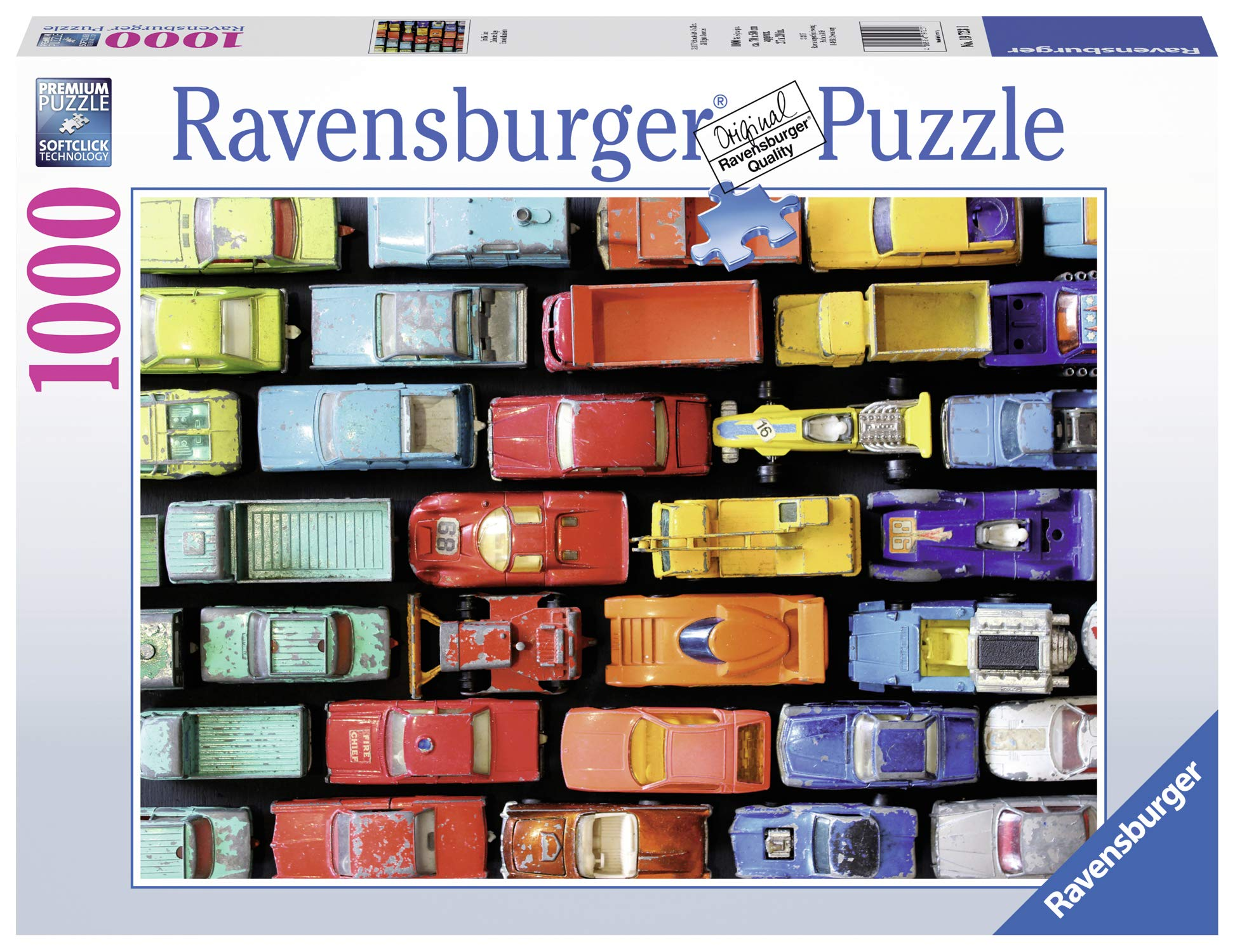 Ravensburger Traffic Jam 1000 Piece Jigsaw Puzzle for Adults - Every Piece is Unique, Softclick Technology Means Pieces Fit Together Perfectly by Ravensburger
