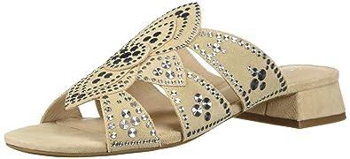 012215a22b5 Cecelia New York Women s Martini Slide Sandal Bone 10 Medium US