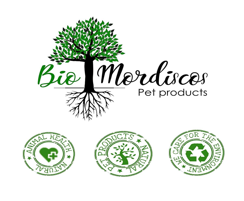 100/% natural M 60g Bio Mordiscos Mordedor de hueso de olivo para perros