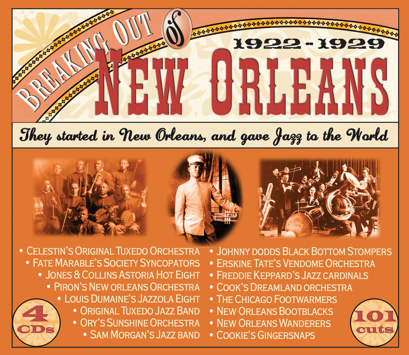 Breaking Out of New Orleans 1922-29 by JSP