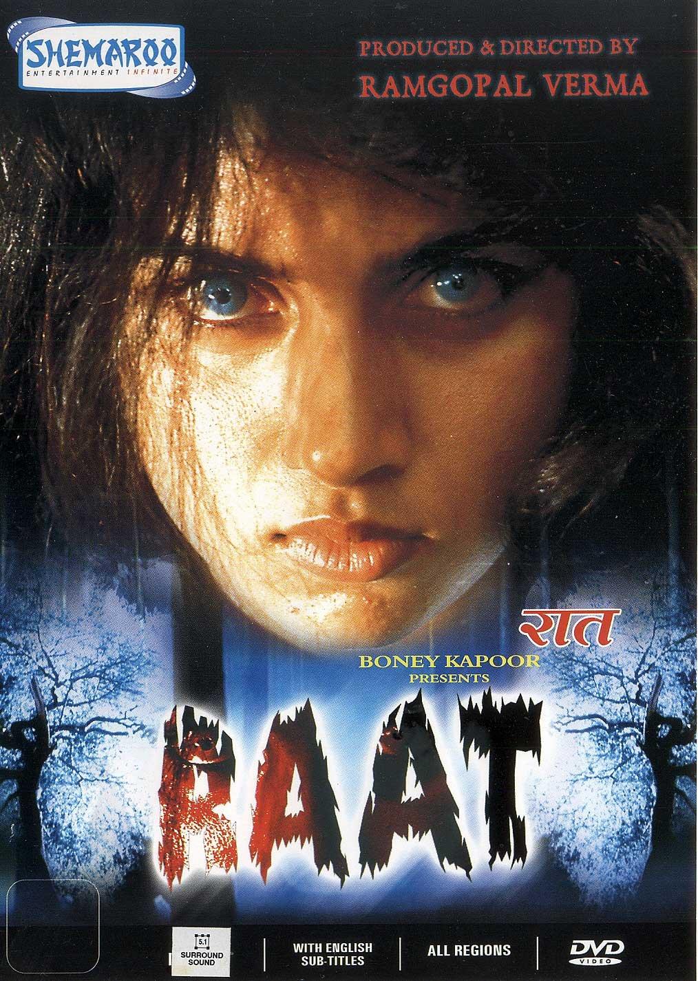 Amazon Com Raat Hindi Dvd Fully Boxed Horror Movie With Subtitles Movies Tv