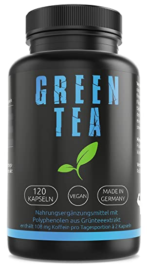 Gym Nutrition Green Tea Gruntee Extrakt Hochdosiert Vegan