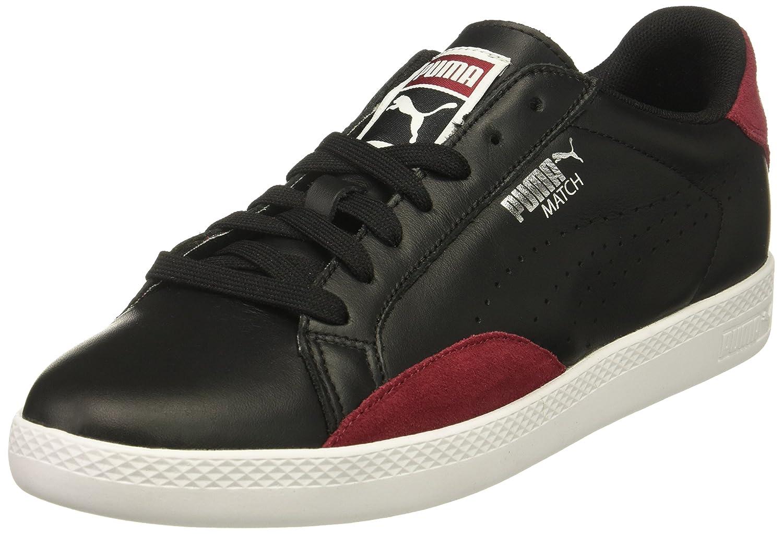 PUMA Women's Match Lo Classic Wn Sneaker B01N0RG2ER 10 M US Puma Black-tibetan Red