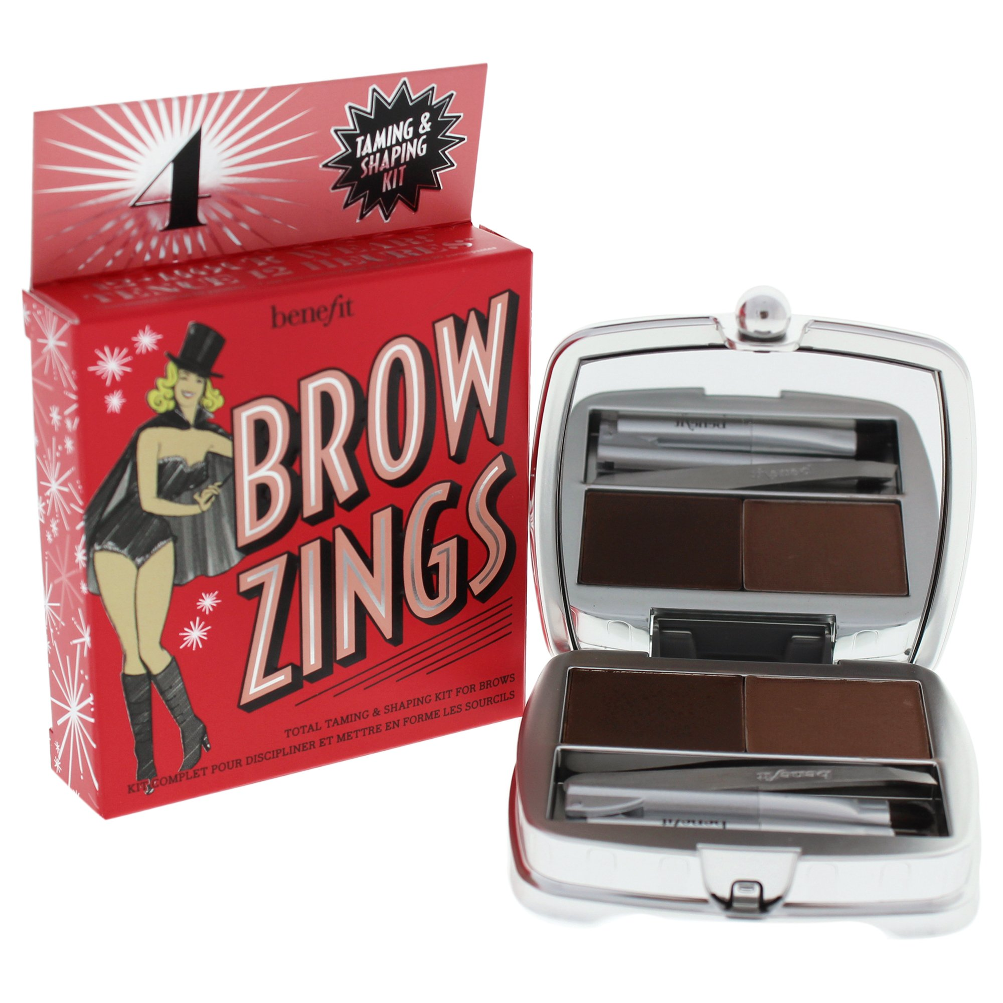 Benefit Brow Zings Tame & Shape Eyebrow Powder, Medium, 0.15 Ounce by Benefit