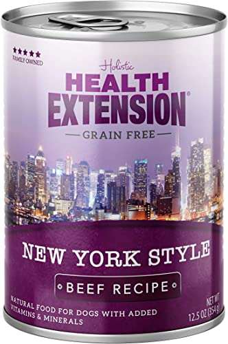 Health Extension Grain Free New York Style Canned Wet Dog Food