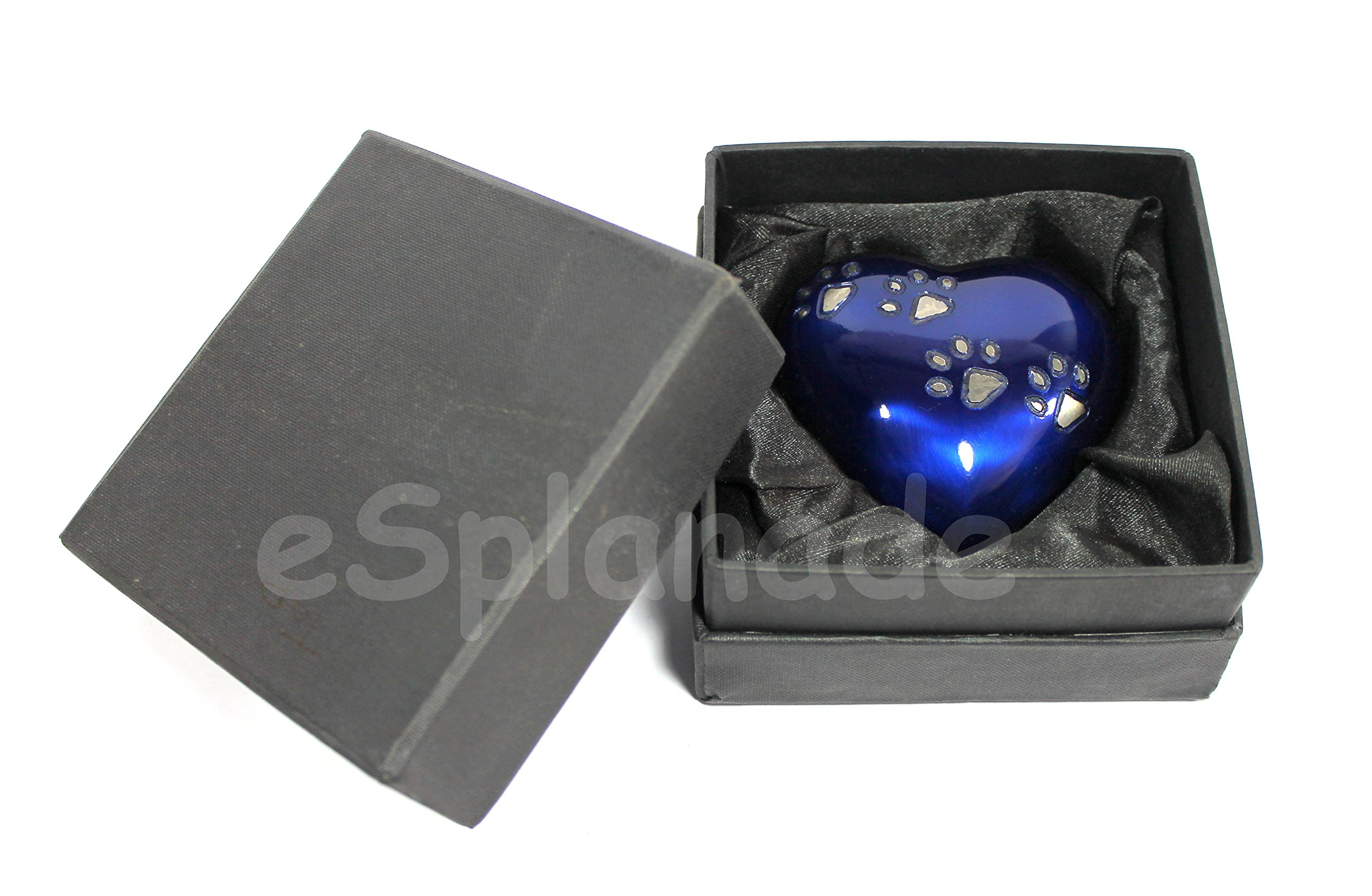 eSplanade Heart Shaped Urn Stand Memorial Keepsake Urns. Burial Urns Stand for Heart Keepsake Urn Metal Urns