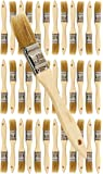 Pro Grade - Chip Paint Brushes - 36 Ea 1 Inch Chip Paint Brush