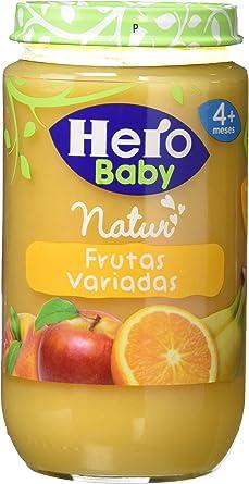 Hero Baby - Infantil Frutas Variadas. A Partir De 4 Meses. Sin gluten 235 gr - Pack de 12 (Total 2820 gr): Amazon.es: Alimentación y bebidas