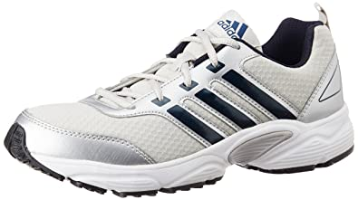 quality design 67330 726cf Adidas Men s Ermis M Silver, Black and Blue Running Shoes (7 UK India