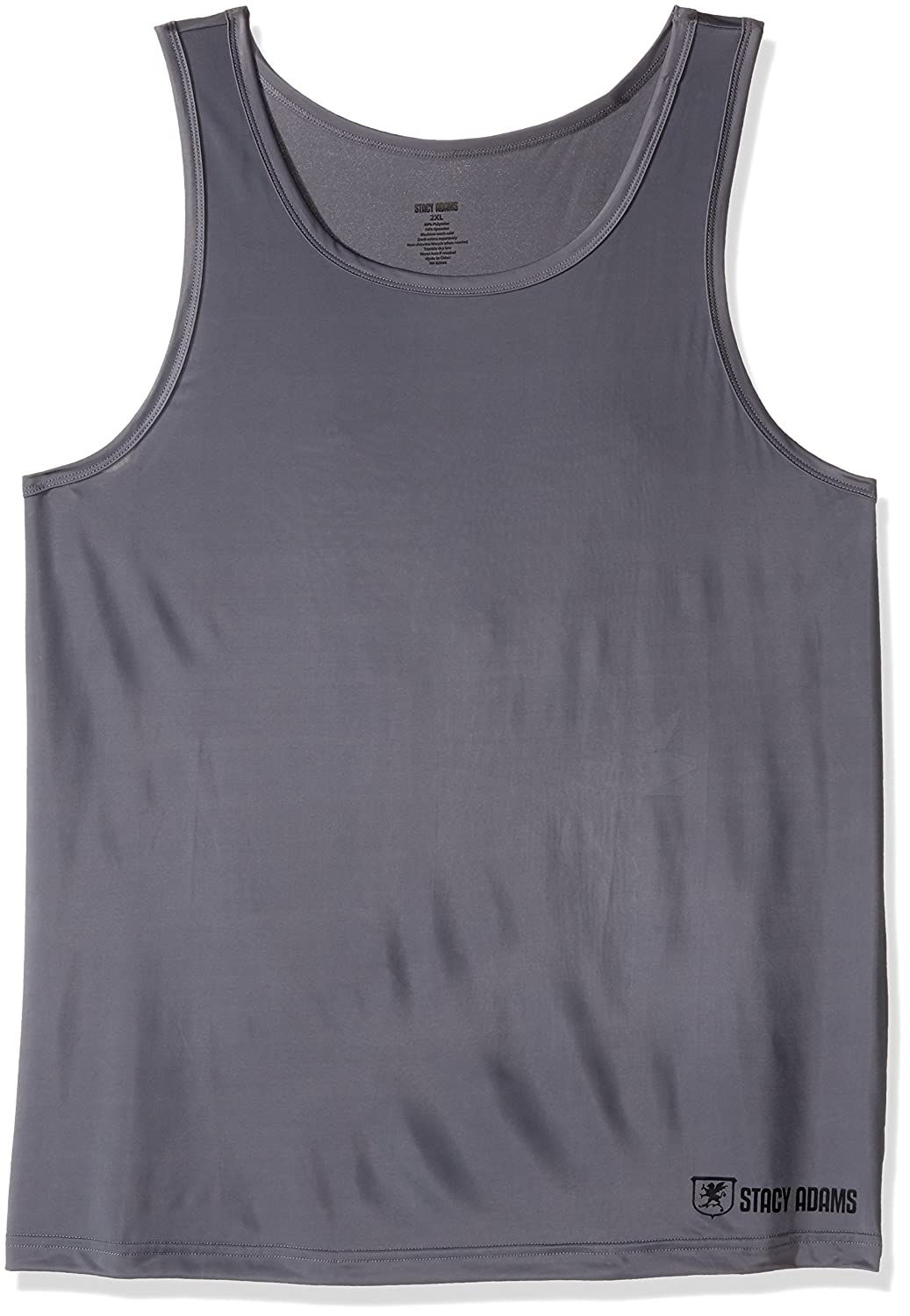 Stacy Adams Mens Big-Tall Men's Big Tank Top Stacy Adams Men's Basics SA1600BIG