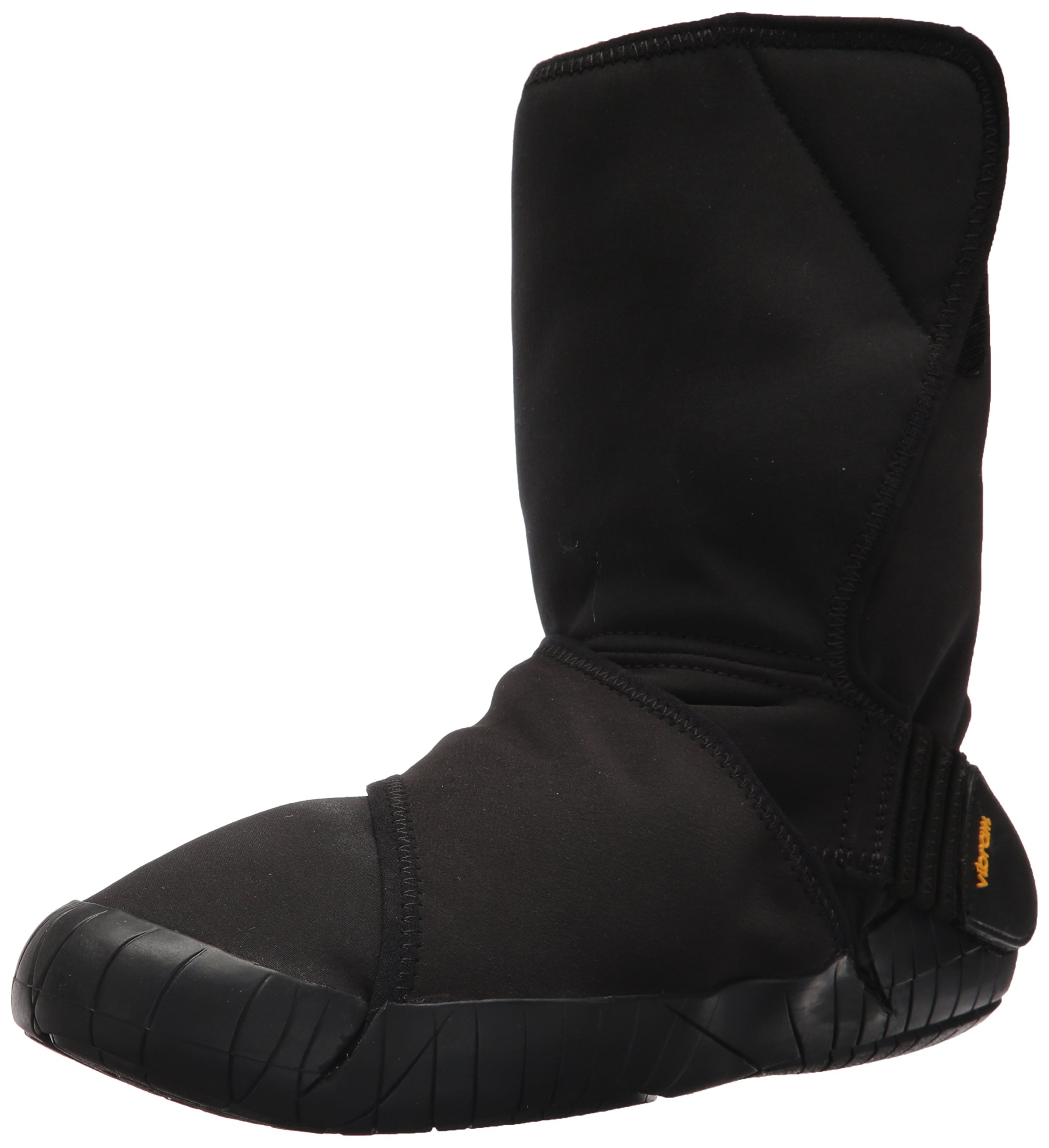 Vibram Furoshiki Mid Boot New Yorker Sneaker, Black, EU:42-43/UK Man:8-9/UK Woman:9-10.5/cm:26.5-27.5/US Man:9-10/US Woman:10-11.5