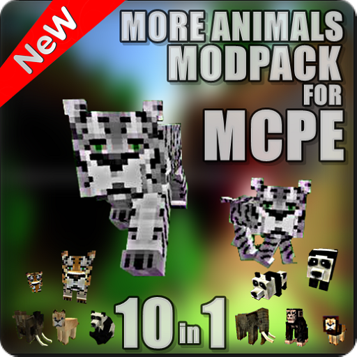 1 Plane (ANIMALS MOSDPACK 10 IN 1)