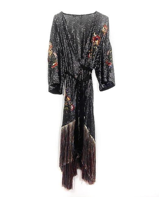 Zara - Vestido - envolvente - para mujer beige M