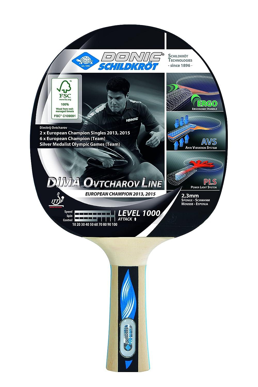 Donic-Schildkröt Table Tennis Bat Dima Ovtcharov 1000 FSC 754412