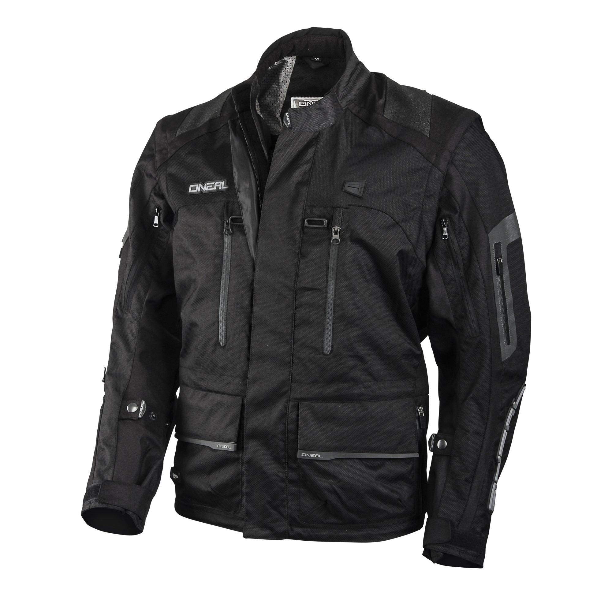 O'Neal Baja Unisex-Adult Jacket (Black, XX-Large)
