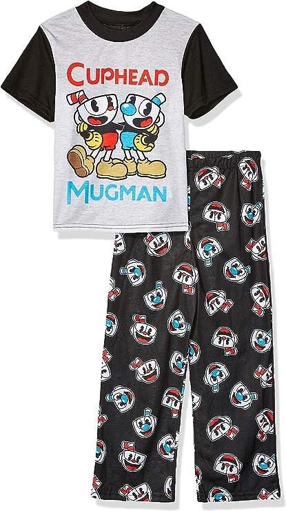 Infant /& Toddler Boys Blue /& Red Handsome Lil Devil Pajamas Sleepwear Set