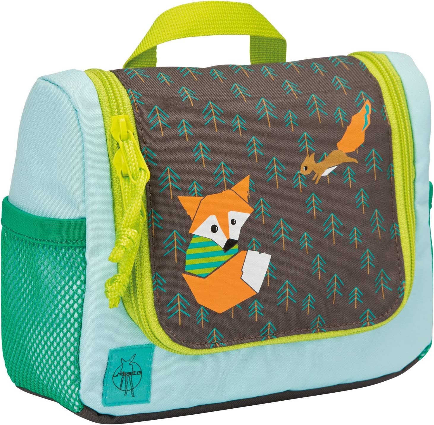 LÄSSIG Bolsa de aseo para niño/ Mini Washbag, Little Tree Fox