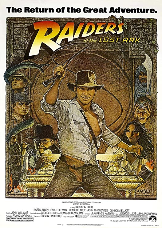 Indiana Jones Raiders de la y el arca perdida Harrison Ford de la ...