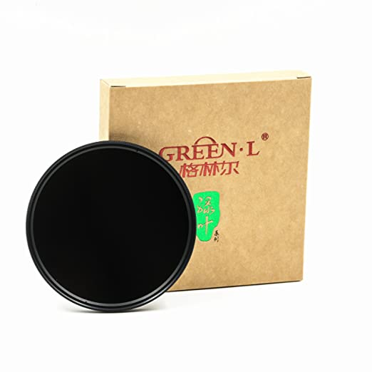 GREEN.L 67mm Neutral Density ND8 Lens Filter Neutral Density Optical Glass 3 stop ND 8 67 mm Filter Sets