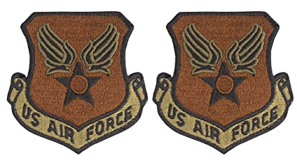 Amazon com: USAF Eagle (Wing and Star) OCP Spice Brown Patch