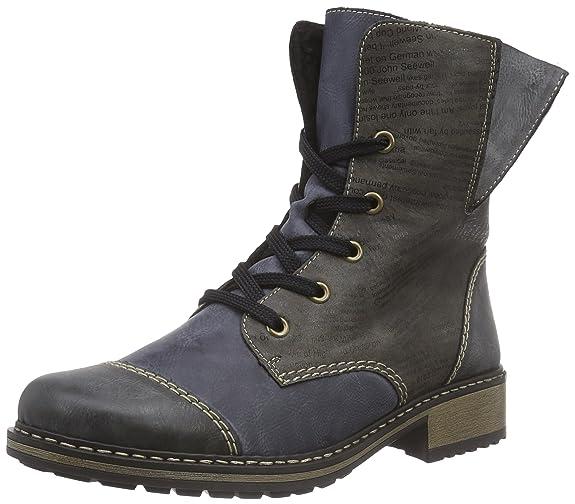Rieker Z6814 Damen Halbschaft Stiefel  Amazon.de  Schuhe   Handtaschen b027a8a275