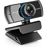Spedal HD Webcam 1080P/1536P Live Streaming Kamera mit Dual-Mikrofone Web Cam Funktioniert mit Xbox One/PC/MacBook/TV Box mit Unterstützung OBS/Facebook/Youtube