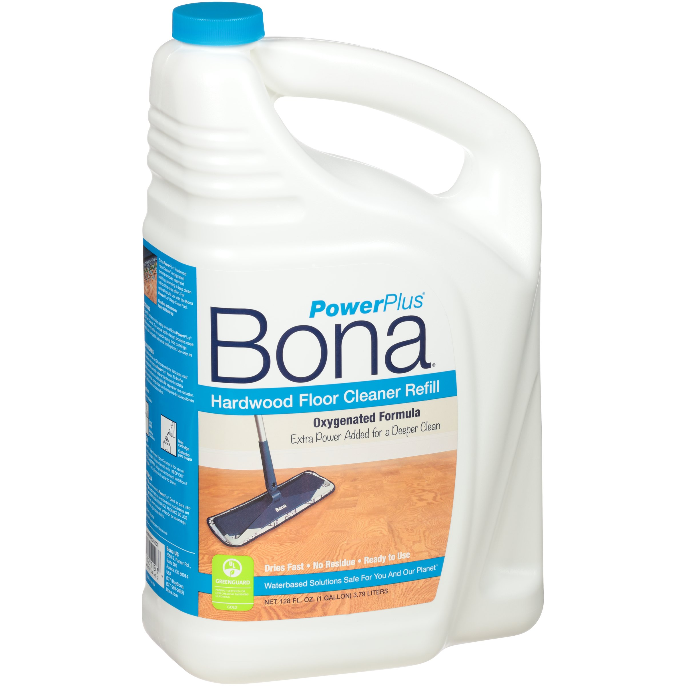 Bona WM850018001 Hardwood PowerPlus Deep Cleaner Refill 128oz