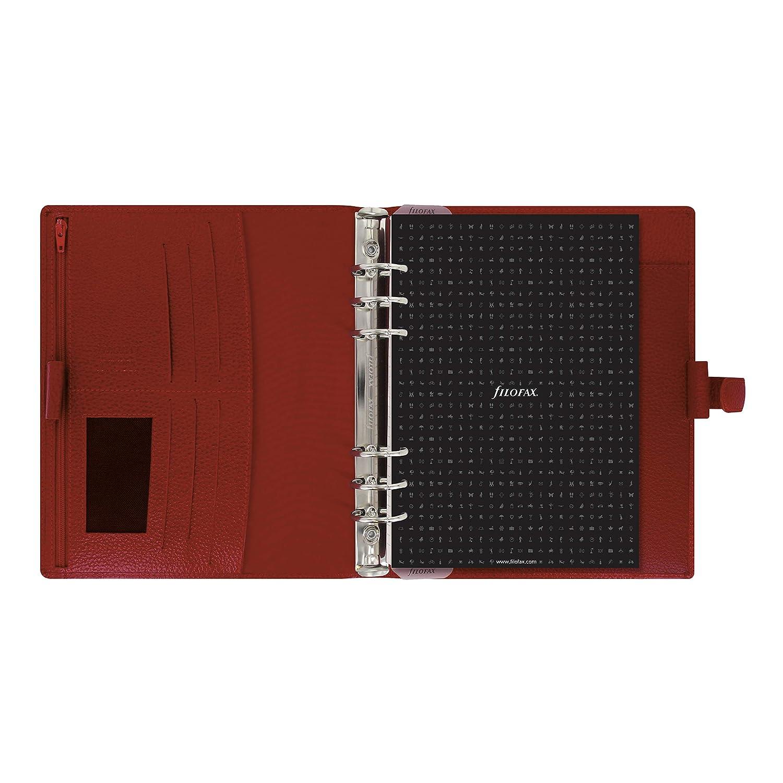 8.25 x 5.75 Filofax C025371-2019 Finsbury A5 Organizer Raspberry
