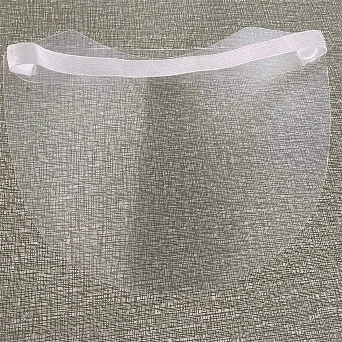 Couleur : Clear, Taille : Taille Unique Lfives Chapeau de Pare-Brise Transparent Respirante Anti-/éclaboussures Anti-poussi/ère Facial