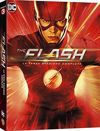 the flash - season 03 6 dvd box set dvd Italian Import