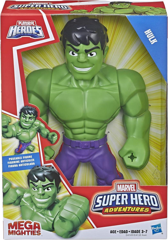 Playskool Eroi Marvel Super Eroe AVVENTURE MEGA potente HULK