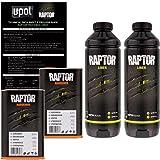 U-POL Raptor Black Urethane Spray-On Truck Bed Liner & Texture Coating 2 liters