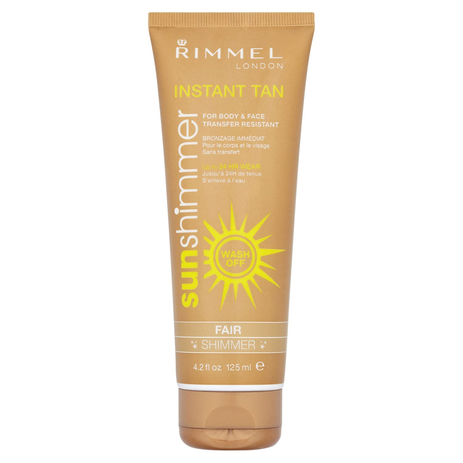 Sunshimmer Instant Tan Makeup 125 ml - Fair Shimmer Coty 34019858002