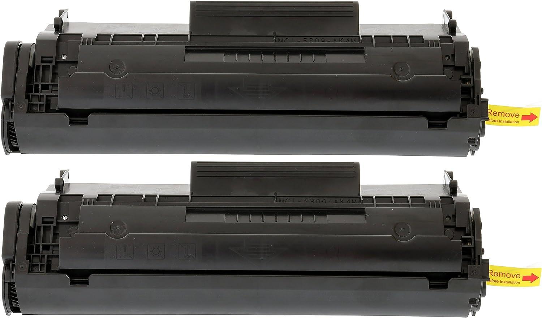 TONER EXPERTE® 2 Cartuchos de Tóner compatibles con HP Q2612A ...