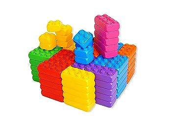 ESDA 20002 - Fun Giant Blocks Basic Assortment: Amazon co uk: Toys