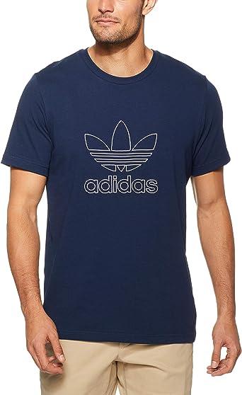 adidas Outline Camiseta, Hombre: Amazon.es: Ropa y accesorios