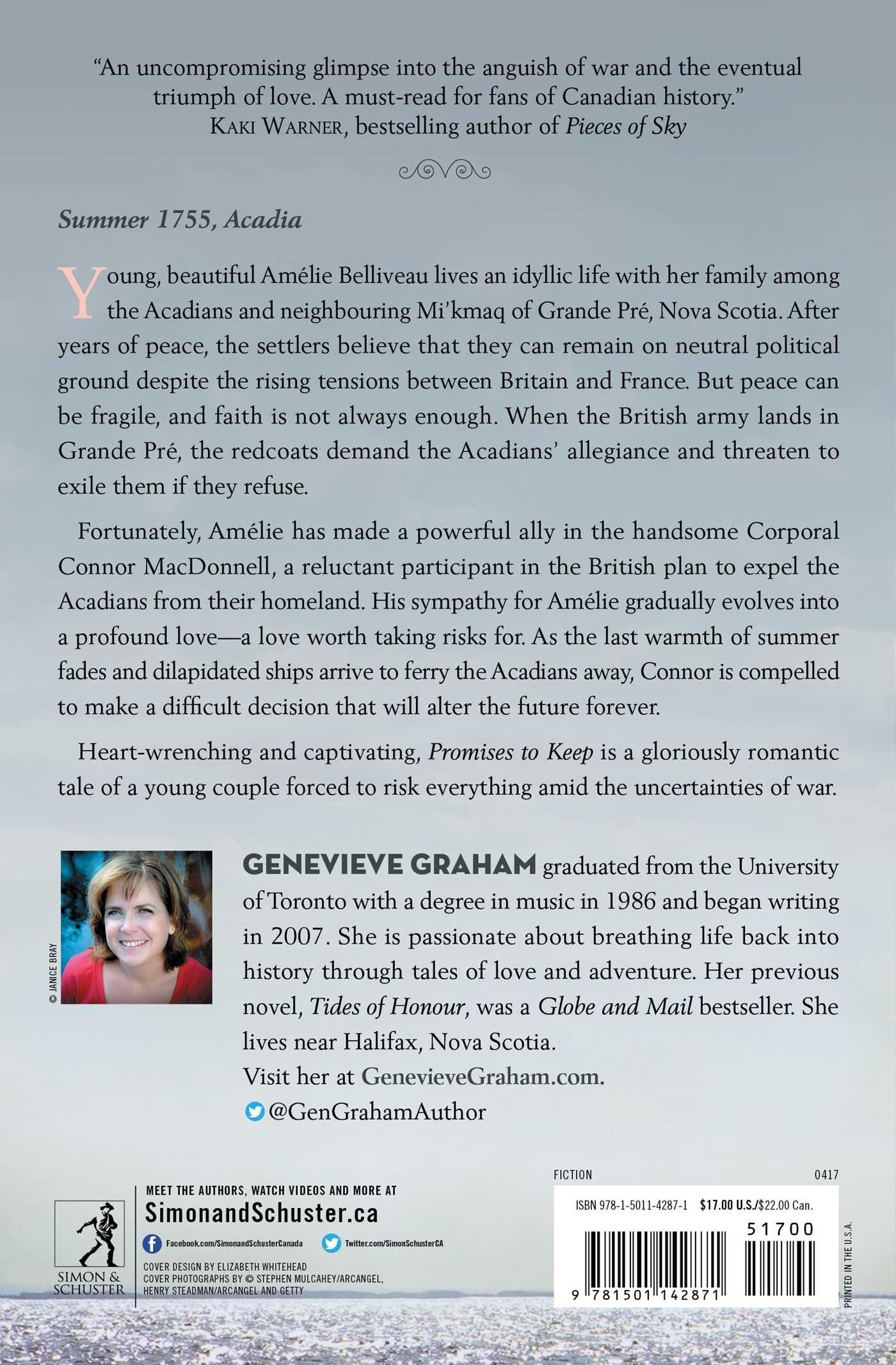 Promises to keep genevieve graham 9781501142871 books amazon aiddatafo Gallery
