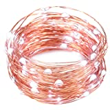Amazon Price History for:LED Fairy Lights, Oak Leaf 2 Set of USB 60 LED Starry String Lights Copper Wire for Home Bedroom Party Wedding Decoration,19.7ft,Cool White