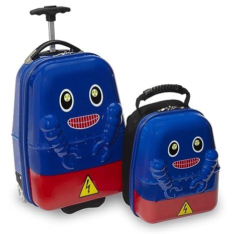 Travel Buddies Equipaje Infantil, Azul (Azul) - TB105